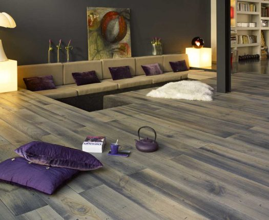 GREY OIL FLOORING
