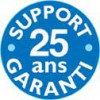 Support garanti 25 ans
